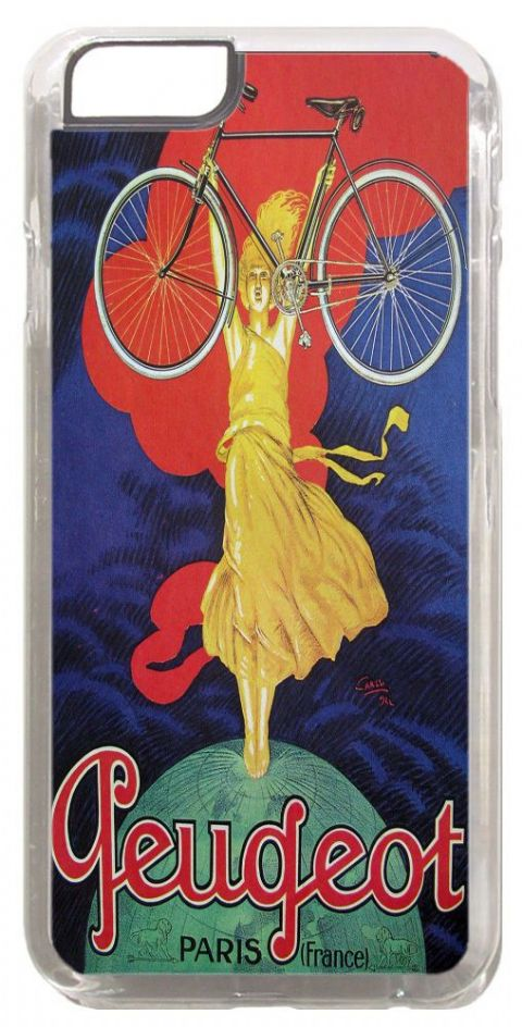 Vintage French Bicycle Advert Poster Cover/Case For iPhone 6/6S. Bike Cycling